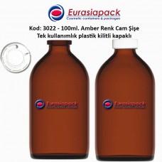 1,40 TL. + KDV'den başlayan fiyatlar ile 100ml. Kilitli Çakma Kapaklı Amber Flakon Şişe