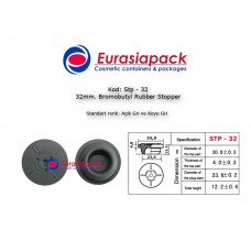 Bromobutyl Rubber Stopper STP-32 32mm