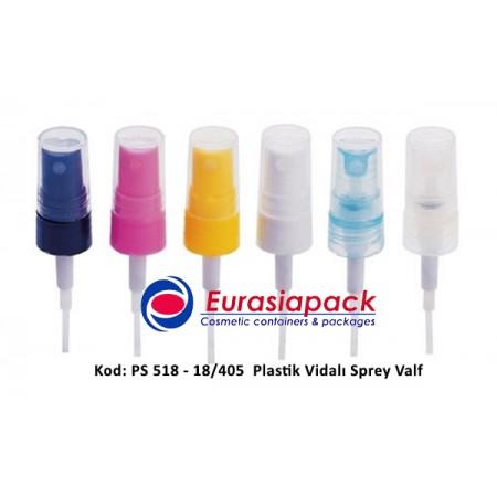 PLASTİK SPREY VALF 18/405 KOD: PS-518